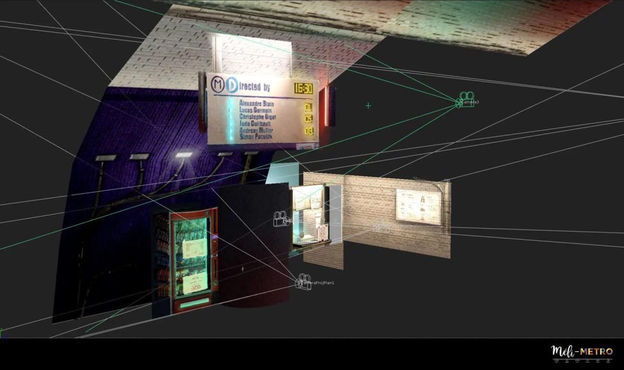 Méli-Metro corto de animacion 3d