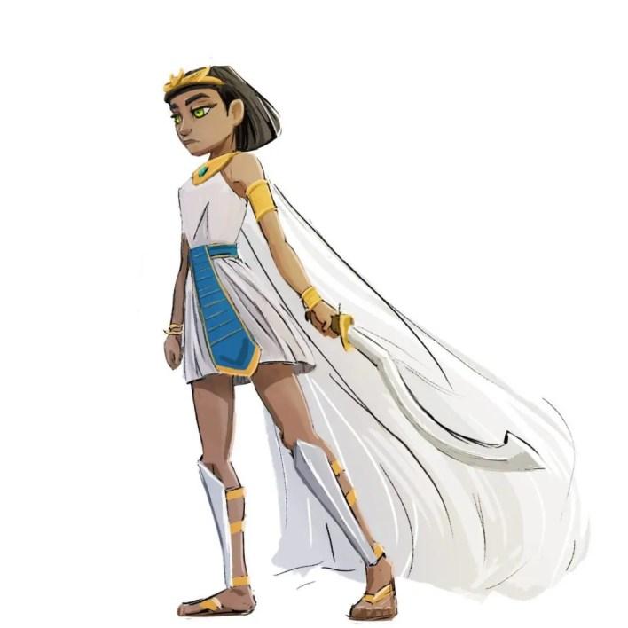 cortometraje de Animación- 3d-Pharaoh-concept art