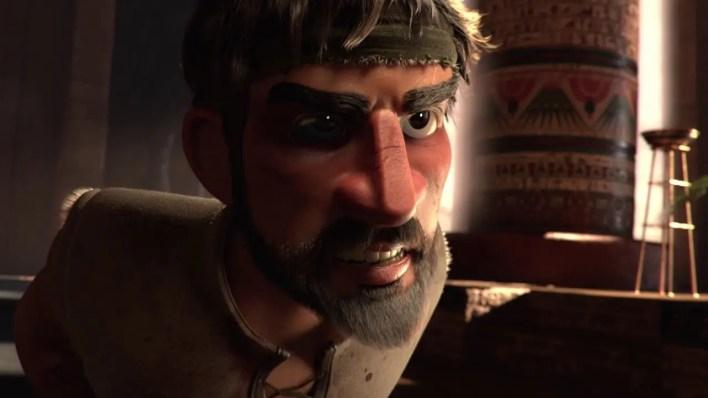 cortometraje de Animación- 3d-Pharaoh