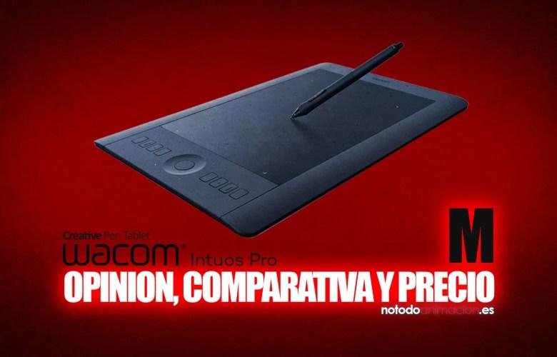 Wacom Intuos Pro M medium - Precio y Review