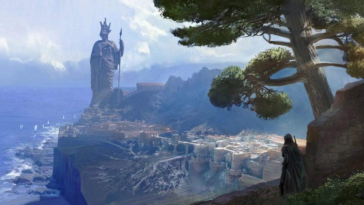 Concept art-Videojuego-Assassing Creed Odissey