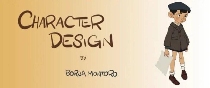 porfolio de diseño de personajes de Borja montoro