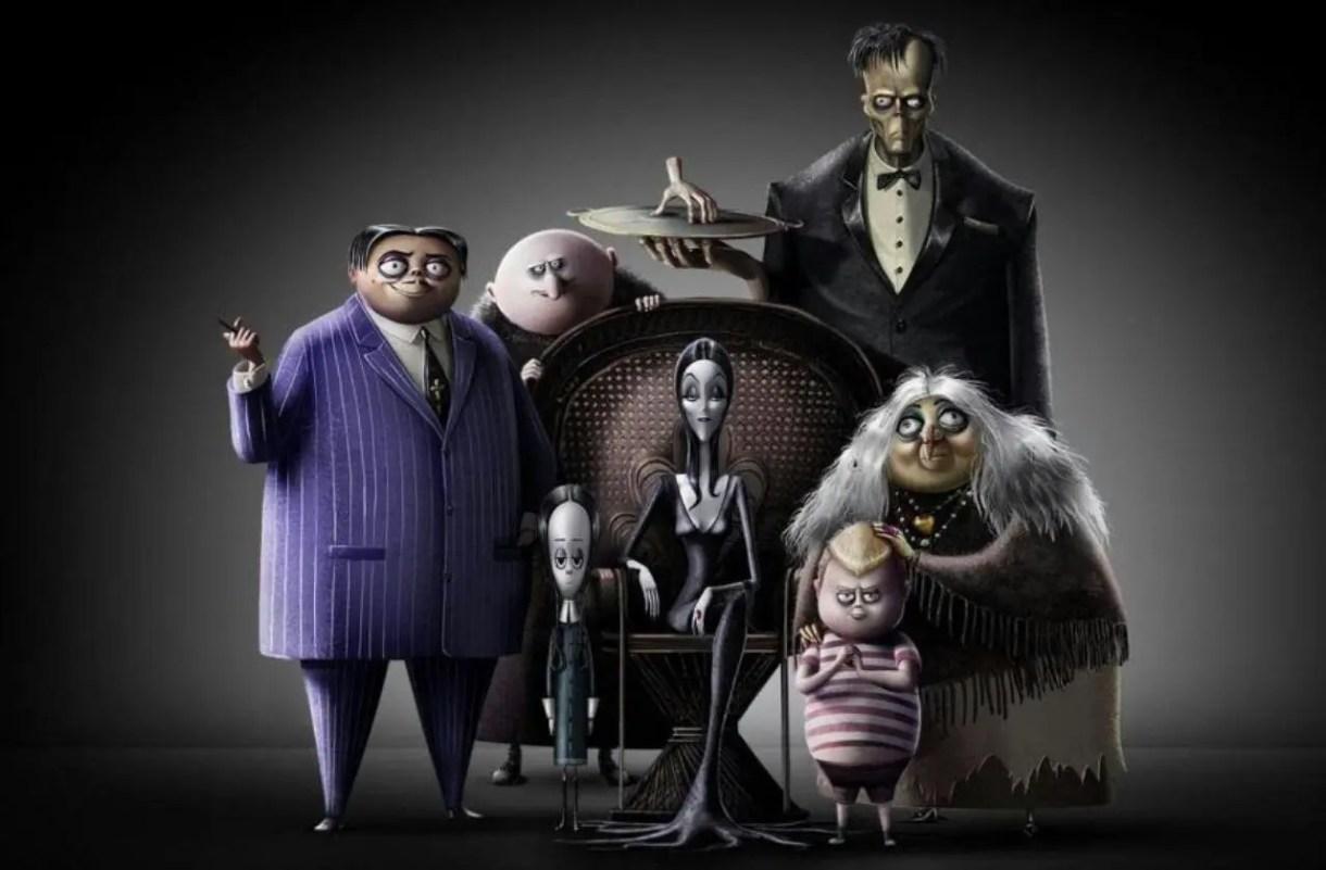 la familia addams película animacion 2019