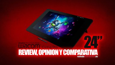 Wacom Cintiq Pro 24 PEN TOUCH review opinión comparativa