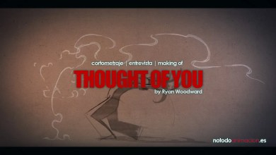 Photo of Thought of You de Ryan Woodward | Corto de Animación & Making of