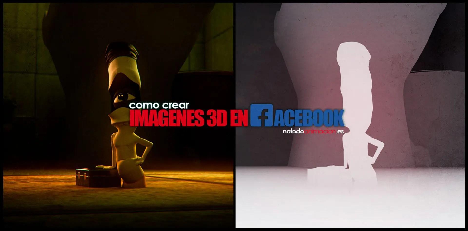 Como hacer Imágenes 3d para Facebook