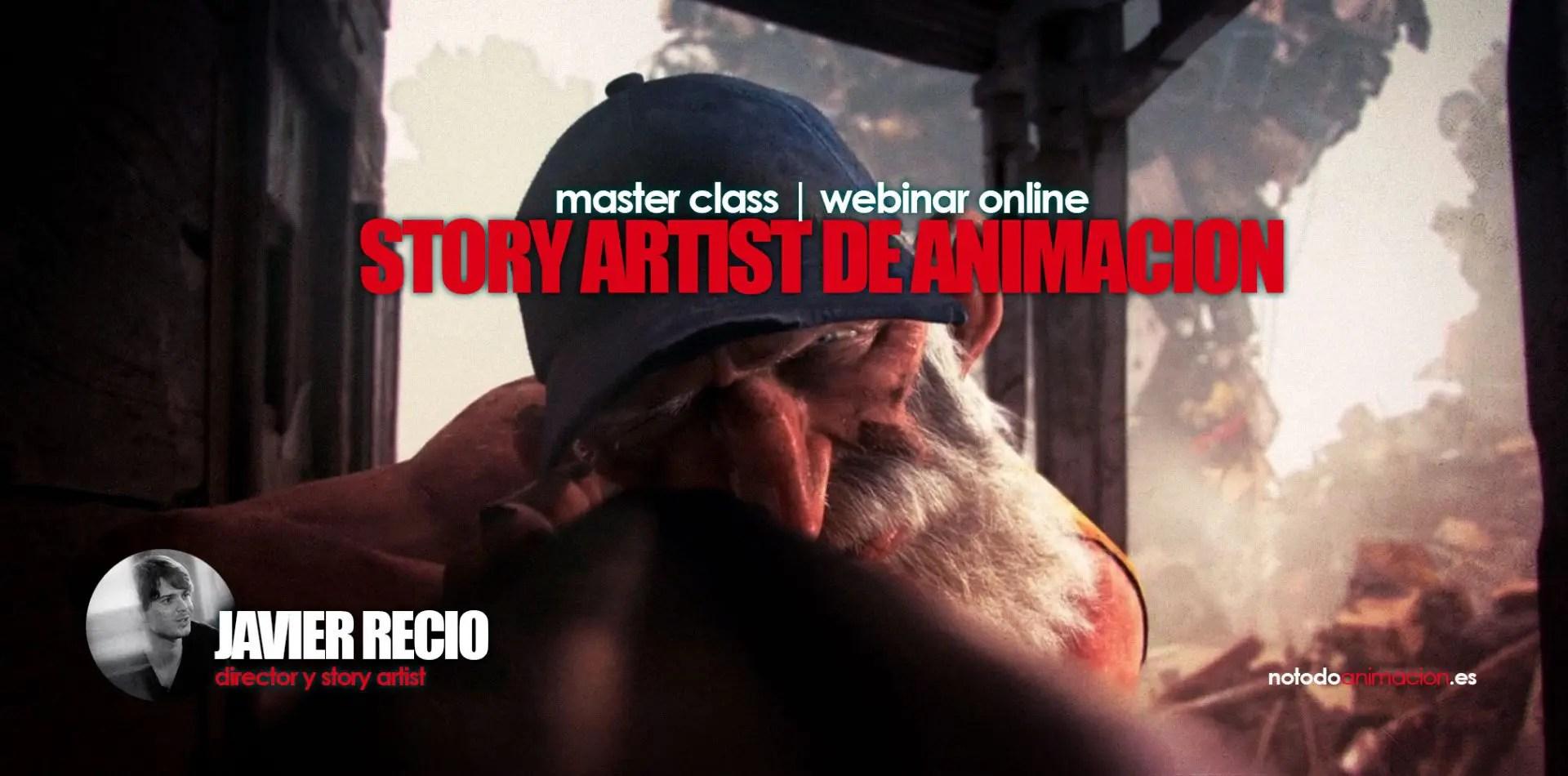 Master Class Gratuita | El Storyboard en la Animación