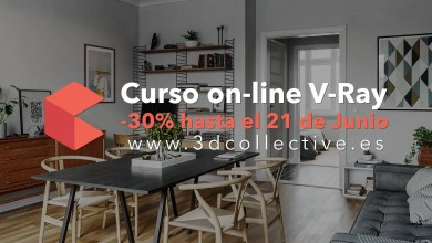 Photo of Curso Online V-Ray | Las claves del Fotorrealismo 30% de Descuento