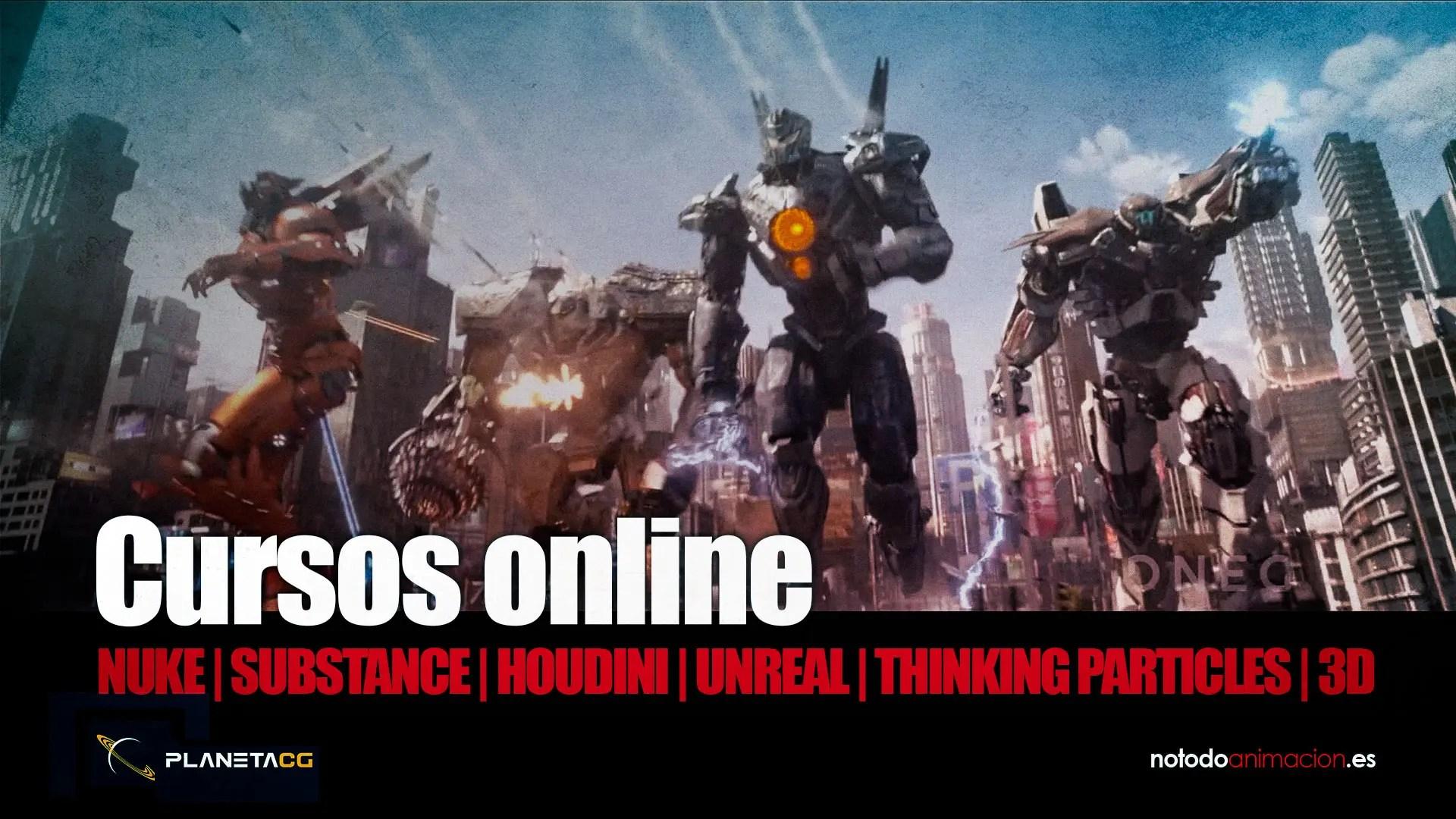 Cursos online 3d