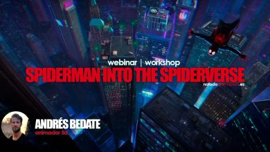 Photo of Webinar Gratuito | La Animación de Spiderman into the Spiderverse
