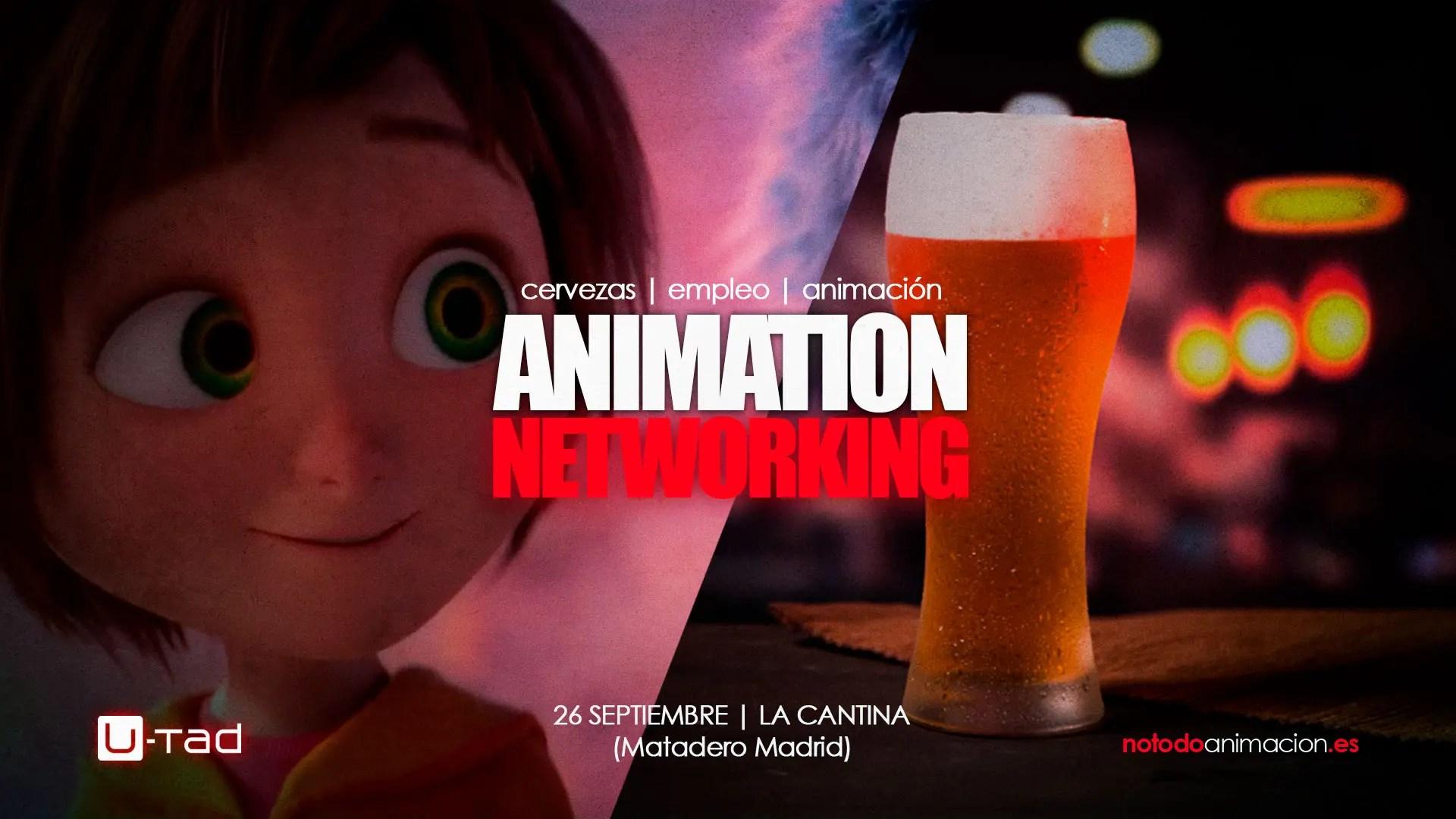 Animation Networking | Cervezas, Seminario y Ofertas de Empleo