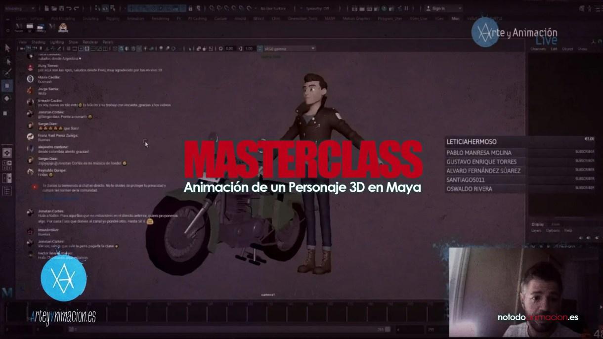 animacion de personajes 3d