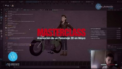 Photo of Masteclass Online | Animación de un Personaje 3D en Maya