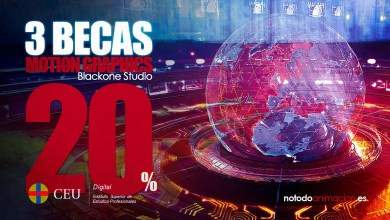 Photo of Máster profesional de Motion Graphics Online | 3 BECAS