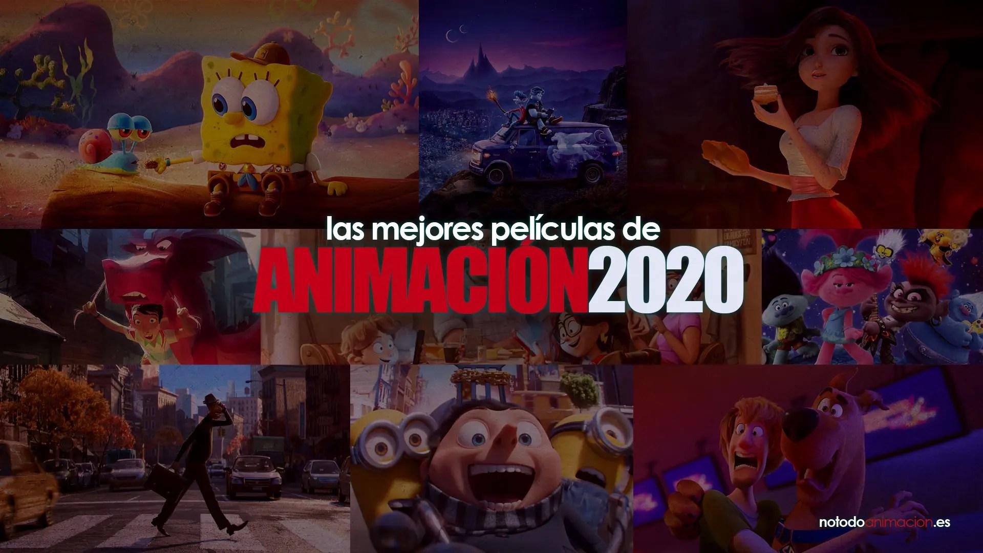 Las mejores Películas de Animación de 2020
