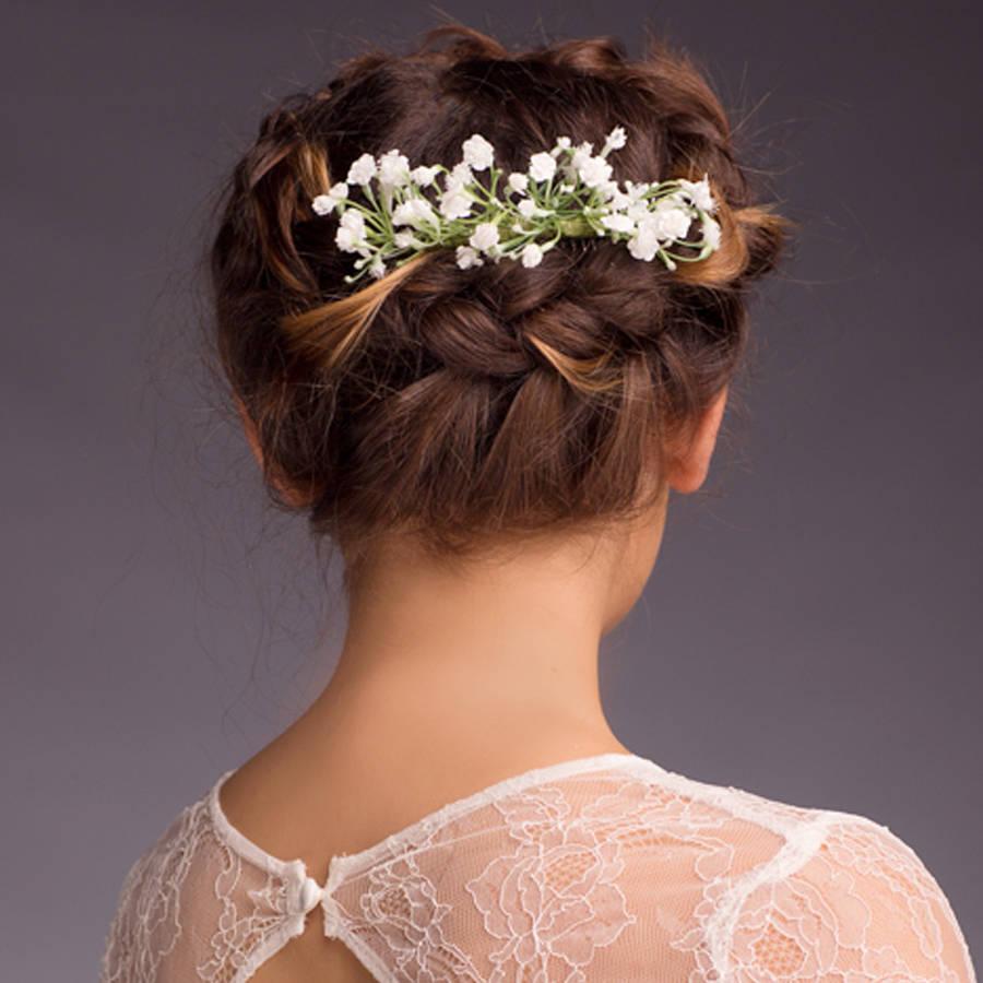 Eva Gypsophila Hair Comb By Gypsy Rose Vintage