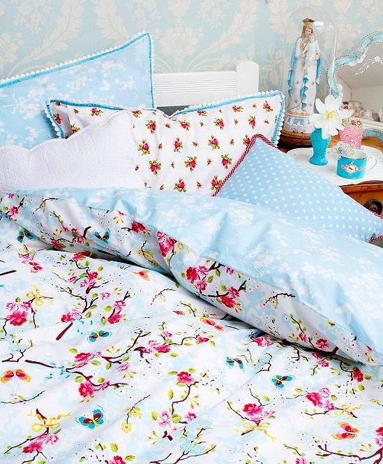 pip studio chinese rose duvet set by fifty one percent