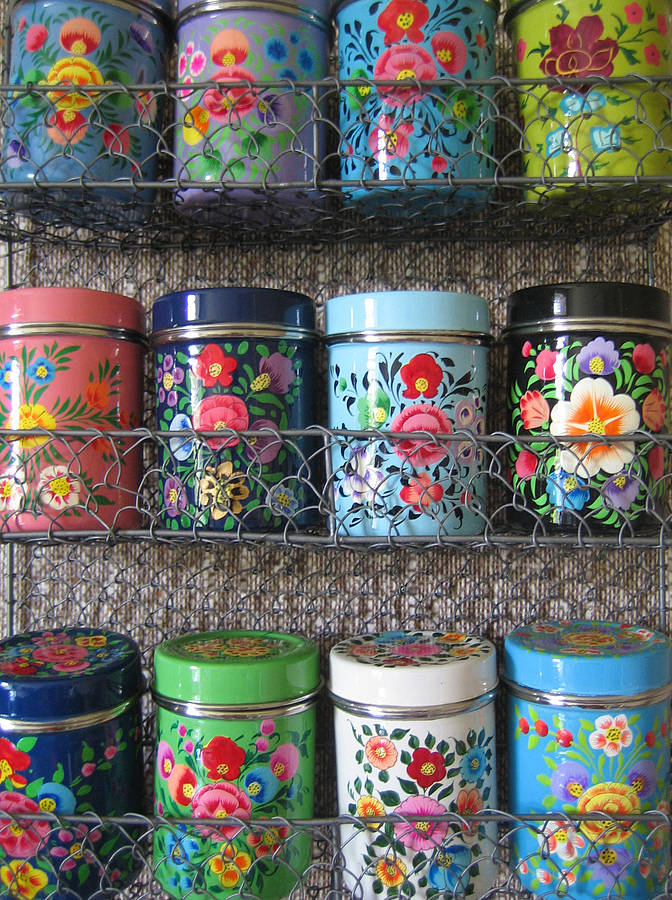 12 kashmiri spice tins by the forest  co