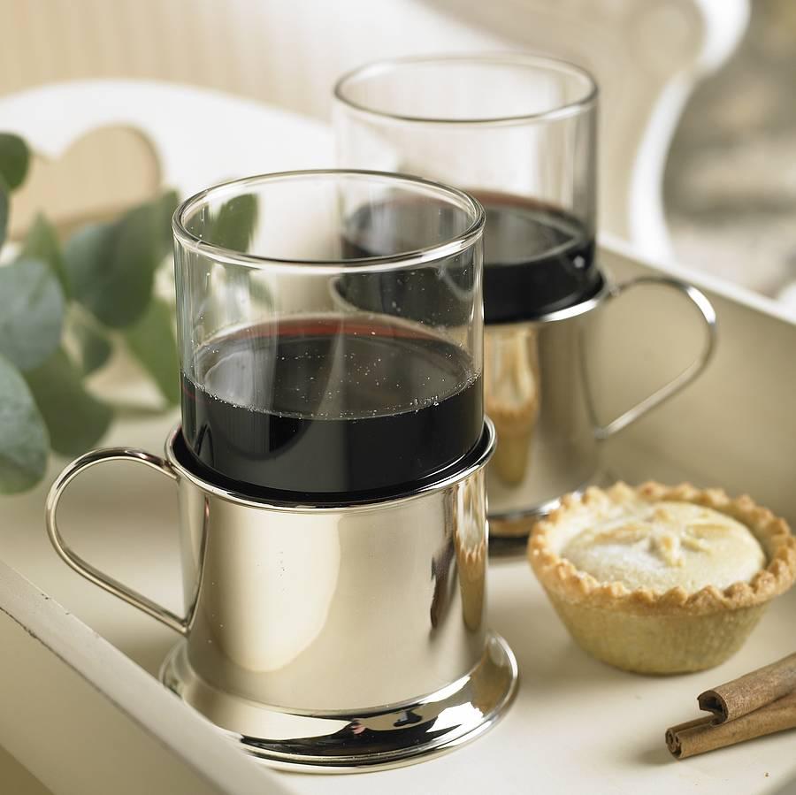 mulled wine glass by dibor  notonthehighstreetcom