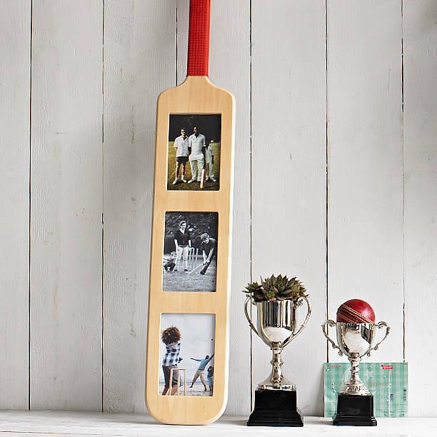 cricket bat photo frame by all things brighton beautiful  notonthehighstreetcom