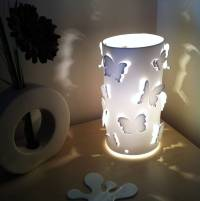 butterfly table lamp by kirsty shaw | notonthehighstreet.com