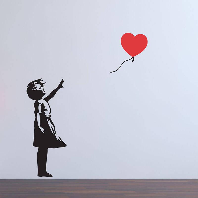 Banksy Balloon Girl Wallpaper Girl With Balloons Banksy