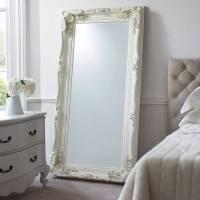 carved floor standing mirror by primrose & plum ...