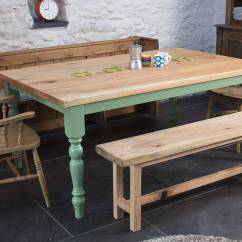 60 Inch Kitchen Island Breakfast Bars Traditional Farmhouse Table By The Old School ...