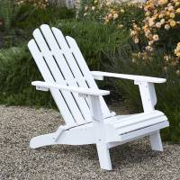 The gallery for --> White Adirondack Chair On Beach