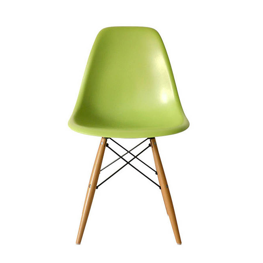 dining chair eames style by ciel  notonthehighstreetcom