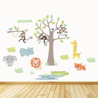safari wall stickers 2017 - Grasscloth Wallpaper