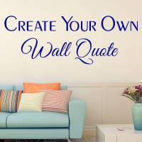 custom wall stickers by wall art quotes & designs by gemma ...