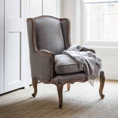 French Louis Chair Salon Hydraulic Philippines Dove Grey Armchair By Within Home | Notonthehighstreet.com