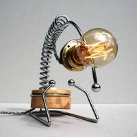 contemporary edison desk lamp by unique's co ...