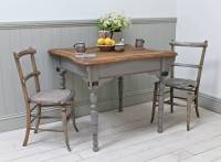 distressed oak kitchen table by distressed but not ...