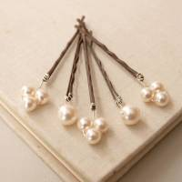 bliss pearl bridal hair pins by jewellery made by me