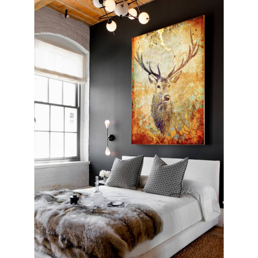 Deer Hunter Canvas Art By Palm Valley