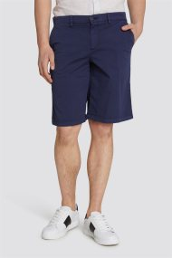 Trussardi Jeans ανδρική βερμούδα Aviator fit - 52P00037-1T002325 - Μπλε Σκούρο