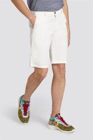 Trussardi Jeans ανδρική βερμούδα Aviator fit - 52P00037-1T002325 - Εκρού