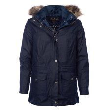 Barbour γυναικείο μπουφάν με κουκούλα Southwold - LWX0861 - Μπλε Σκούρο