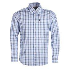 Barbour ανδρικό πουκάμισο καρό με τσέπη Tattersall - MSH4404 - Γαλάζιο