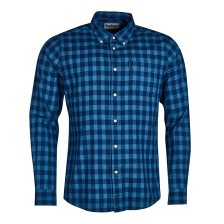 Barbour ανδρικό πουκάμισο καρό με τσέπη Indigo 5 - MSH4425 - Μπλε