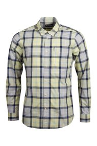 Barbour ανδρικό πουκάμισο καρό Burnside - MSH4519 - Πράσινο Ανοιχτό