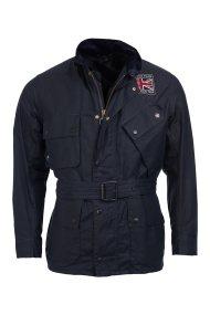 Barbour International ανδρικό μπουφάν Steve McQueen™ Joshua - MWX1401 - Μπλε Σκούρο