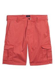 Gant ανδρική βερμούδα με τσέπες - 20018 - Κόκκινο