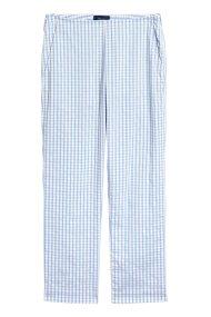 Gant γυναικείο καρό κάπρι παντελόνι - 4150071 - Γαλάζιο