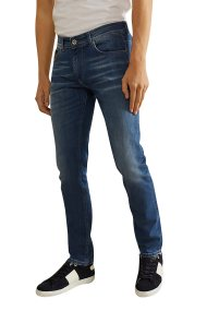 La Martina ανδρικό τζιν παντελόνι Shaun Essential - NMT008-DM038 - Μπλε