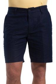 Ανδρική λινή βερμούδα Nautica - B71603 - Μπλε Σκούρο