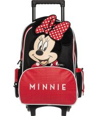 Alouette παιδική βαλίτσα-τρόλεϋ Minnie Mouse (3+ ετών) - 00024111 - Κόκκινο