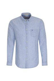 Camel Active ανδρικό λινό πουκάμισο - CD-85-115022 - Γαλάζιο